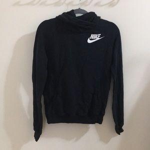 Black Nike Cowl Neck Hoodie